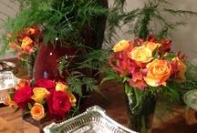 Flores / meus arranjos criados de acordo com cada perfil.