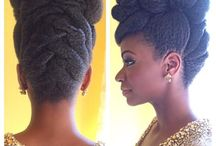 African hair / Afro