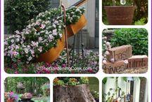 Garden junks