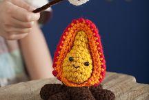 crochet fire