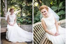 Como Conservatory Bridal Portraits