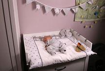 Wickeltisch Kinderzimmer Wickelauflage Baby / Baby Wickelunterlagen - Für ein bequemes und sicheres Wickeln: Baby Baumwoll Wickelauflagen von HOBEA-Germany  Kinderzimmer Babyzimmer Ausstattung