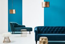 It's Time for Turquoise / Entering a space awash in blue-green hues is nothing short of powerful and depending on the hue you choose, you can create a calm or energizing environment.