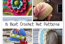 Crochet -  Hats / Different crocheted hats for the whole family