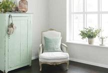 Déco vert / déco en vert pour le salon, la salle à manger, la chambre, l'entrée, la cuisine ou la salle de bain. Sauge, kaki, vert foncé, menthe, vert clair, céladon