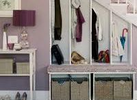 Cool storage ideas / by Claire Wood