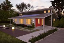 Renew Collection / Deltec's line of prefabricated high performance homes. Designed to use 2/3 less energy than a typical home, making it easy to achieve net-zero energy!