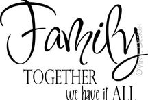 Family First / by Audrey McKean