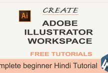 beginner illustrator tutorials in hindi