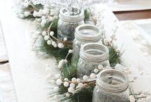Julebord-pynt