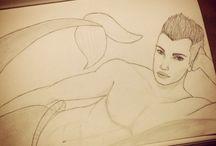Drawings / My drawings #disney #mermaid #fanart
