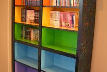 Reading nooks/libraries