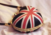 ♔ U.K. Purse-a-nality / Purses, totes, shopping bags, wallets, coin purses and lunch bags-most with the Union Jack theme! / by Melissa