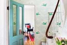 wallpaper & stencils / by Ashley Ann Campbell