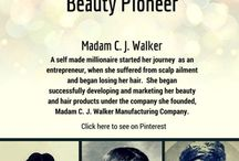 African American Beauty Pioneers / This features African American women beauty entrepreneurs