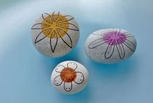 Workshop stenen beschilderen en schilderen kids / workshop kids