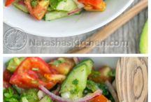 healthy salats