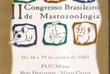 II Congresso Brasileiro de Mastozoologia, 2003 Set / Belo Horizonte, MG