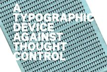 Posters / Design resistente / A typographic device against thought control.