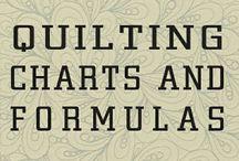 quilting charts and formulas