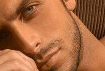 Men with piercing eyes