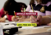 Paraphrasing Tool / Article rewriter a amazing tools to spin your article and gives you a unique language.
