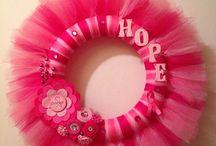 Breast cancer wreaths / by Susan Devillier