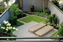 cortili , terrazzi , balconi , verande