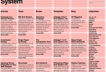 Swiss Graphic Design Grids / Examples of Swiss design and grids