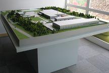 Makieta zakładu Marwit / Zdjęcia przedstawiające makietę zakładu produkującego soki