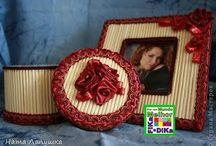 Reciclagem de Papelão / Veja mais ideias no Facebook  e no Blog do Fika a Dika