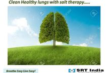 Fight Respiratory problems the natural way! / Get clean lungs with salt therapy