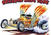 Hot car posters