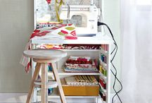 SEWING ROOM JUST FOR ME!!!! / by Rebekah Treece
