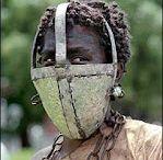 Slave ref / Shackles, chains, creepy human Slave stuff