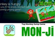 Mon-Ji Game / Mon-Ji is a great feature Android/iPhone game based on Monkey-Jump that will make you completely stress-free