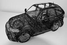 wire art sculpture / wire art