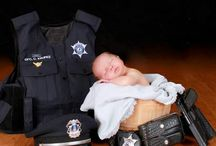 Photo de bébé police