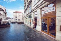 RERICH Store / RERICH STYLE store Starobrněnská 13,Brno 60200 Open: Po-Pá 10-19 hod So 10-15 hod Ne zavřeno Tel:543 210 624 info@rerich.cz