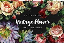 Flower graphic design