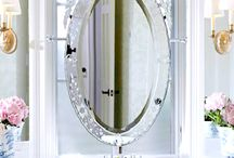 Venetian Mirrors / Glamour is what we do. Stunning Venetian mirrors in their best light. Want one? Find them with us at http://www.VanityMirror.co/collections/venetian-mirrors.