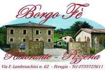 Osteria Borgo Fe'  - #SQUISYMANGILASTMINUTE / Scopri Osteria Borgo Fe' di Perugia (PG).  In una casa colonica recentemente ristrutturata, l'osteria Borgo Fè si ispira ai sapori della cucina tradizionale italiana e locale. Piatti tipici della cucina umbra e un'ampia scelta di piatti a base di pesce fresco. Ottima la cantina, ricca e di qualità, che fa da contorno a questo accogliente angolo di campagna. #squisy #squisymangilastminute #ristorantisquisy #perugia