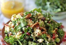Salads / by mamawolfe