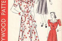 1940s patterns / by Tasha