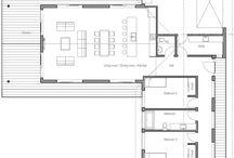 L shape apartment