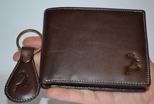 Reindeer Leather​ Signature Edition Brown Leather Wallet