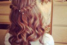 coiffures rouleaux