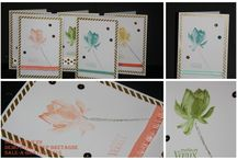 stamping up lotus blossom
