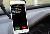 Infocabs In-Car Devices / A choice of in car devices means Infocabs can adapt to any business scenario.