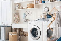 Basement Laundry and Storage